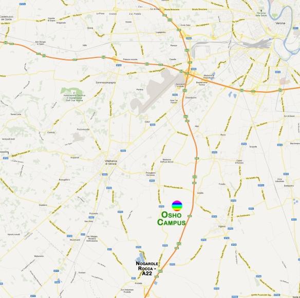 Mappa OshoCampus